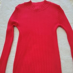 Woman's Sweater Color Red Size L